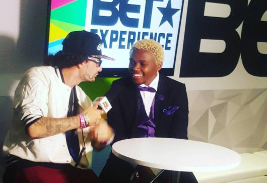 Kenyan Comedian Chipukeezy Attends BET Awards