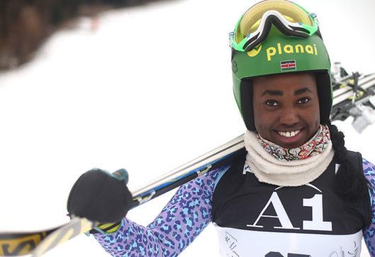 Kenya's First Alpine Skier Sabrina Wanjiku Set For South Korea Olympics