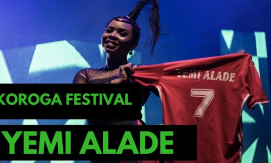 Yemi Alade at Koroga Festival 2018